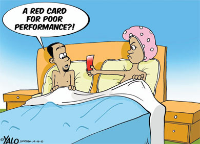 'Red Carded': Africartoons.com