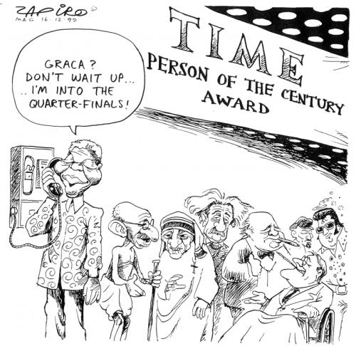 '1999: A Man of our Time': Africartoons.com