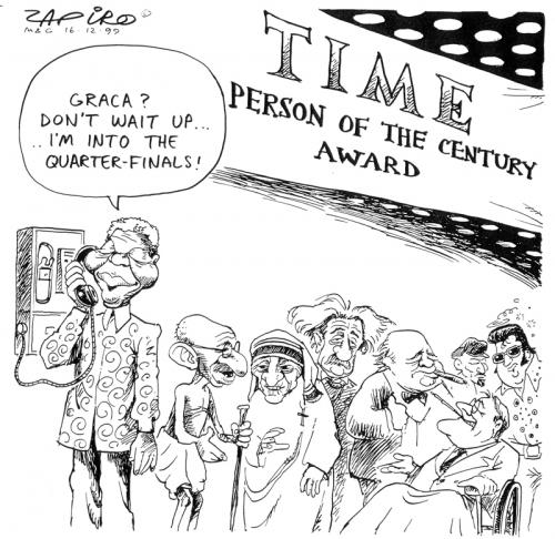 '1999: A Man of our Time': Africartoons.com
