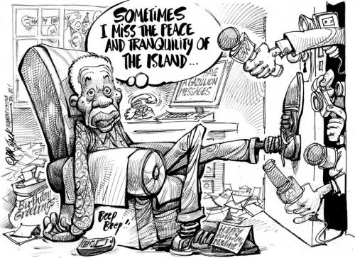 '2009: Mandela Day': Africartoons.com