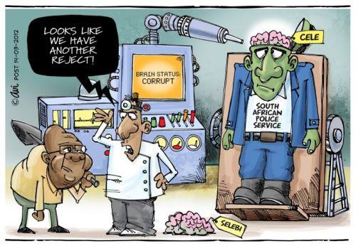 'The No-brain of the Organisation': Africartoons.com