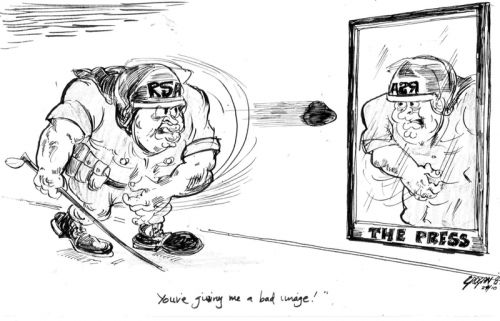 'Reflecting on oneself': Africartoons.com