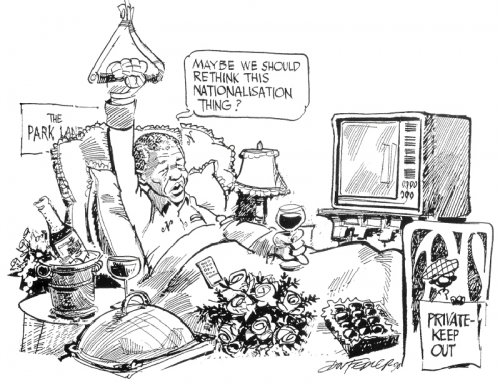 '1990: Clinically Speaking': Africartoons.com