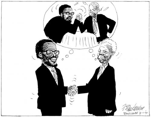 '1991: A Shaky Peace': Africartoons.com