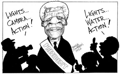 '1994: President Mandela': Africartoons.com
