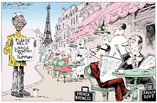 'Mandela in Paris': Africartoons.com