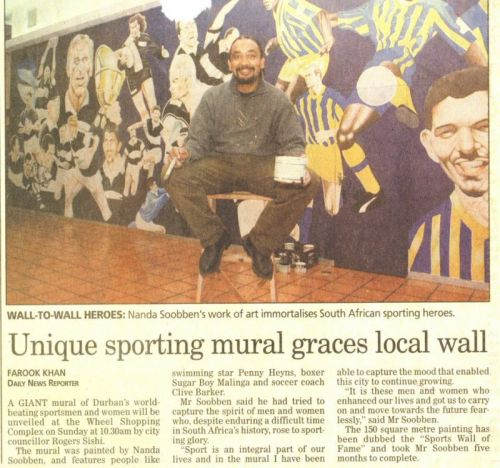 'Nanda Soobben's Wall of Fame': Africartoons.com