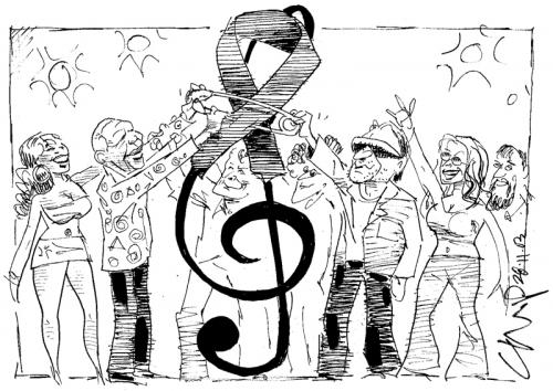 '2003: Mandela Rocks!': Africartoons.com
