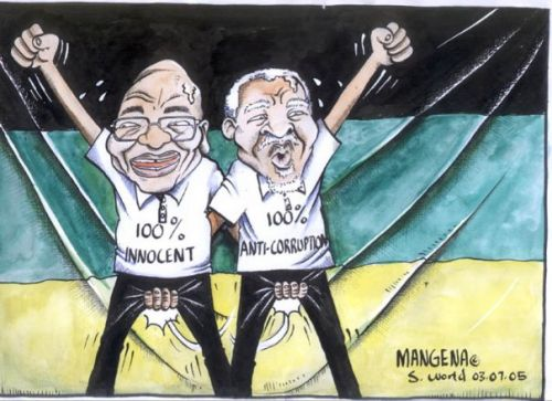 'Zuma and Mbeki catch 22': Africartoons.com