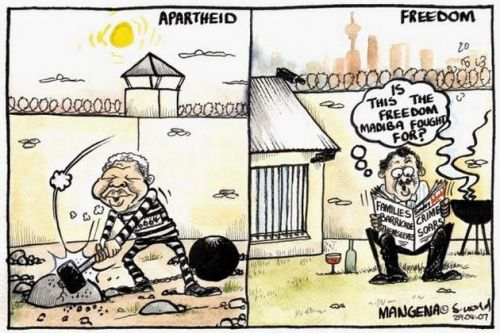 'Who's in Prison Now?': Africartoons.com