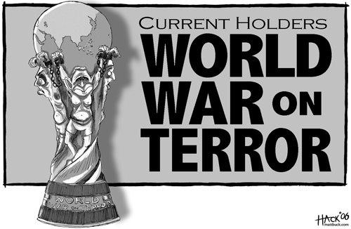 'War on Terror by Hack': Africartoons.com