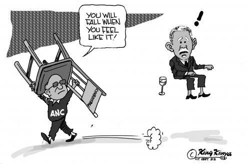 'Mbeki Unseated ': Africartoons.com