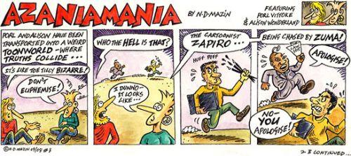 'Azaniamania 003': Africartoons.com