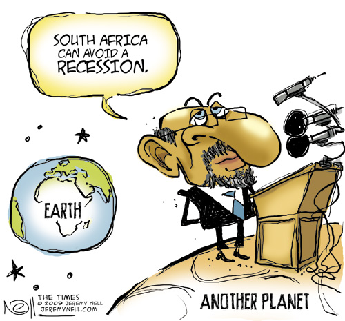 'Recession-proof?': Africartoons.com