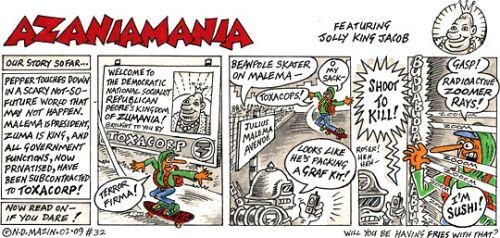 'Azaniamania 032': Africartoons.com