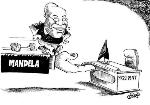 'With a Little Help from Madiba': Africartoons.com