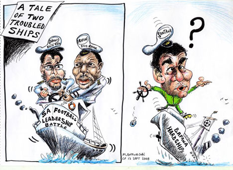'A tale of two ships': Africartoons.com