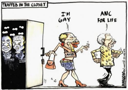 'Out of the Closet': Africartoons.com