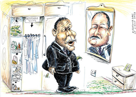 'Dressed by the mob': Africartoons.com