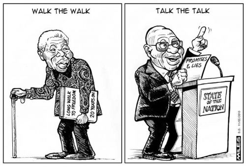 'Walk &#039;n Talk': Africartoons.com