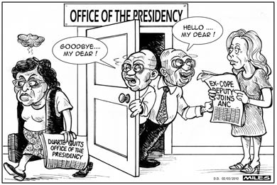 'Positions in the Presidency': Africartoons.com