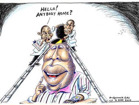 'Malema's Mind': Africartoons.com
