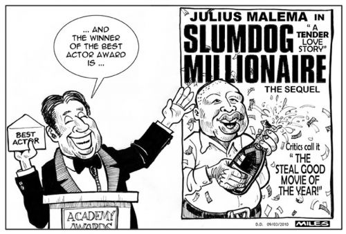 'Slumdog Millionaire  ': Africartoons.com