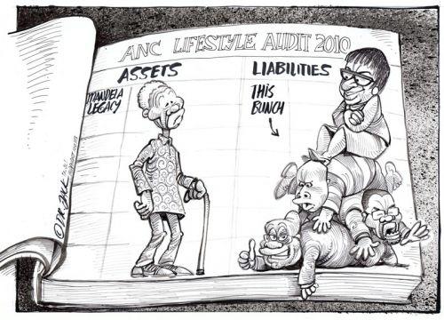 'ANC's Lifestyle Audit': Africartoons.com