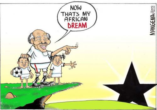 'Dreaming of a rising Black Star': Africartoons.com
