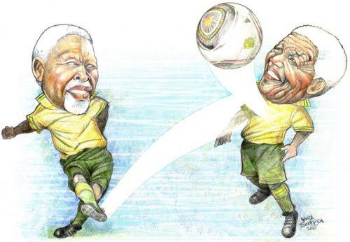 'Luthuli to Mandela': Africartoons.com