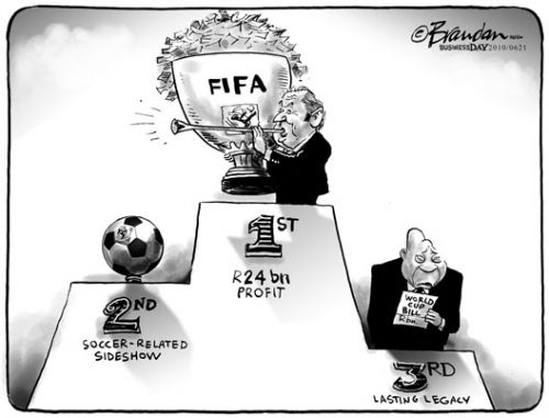 'Who's the the REAL winner?': Africartoons.com