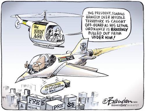 'Press under threat': Africartoons.com