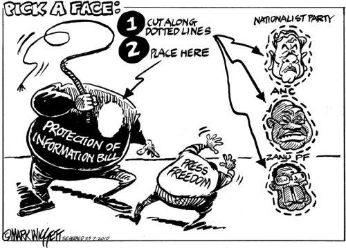 'Info Bill: Pick a face': Africartoons.com