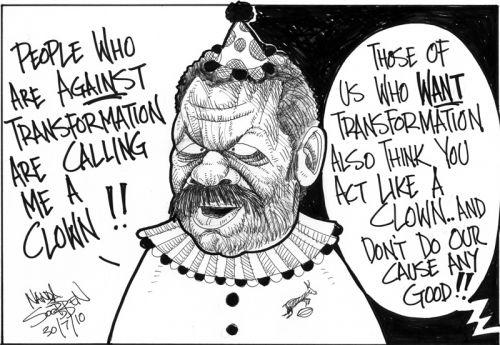 'Peter the clown': Africartoons.com