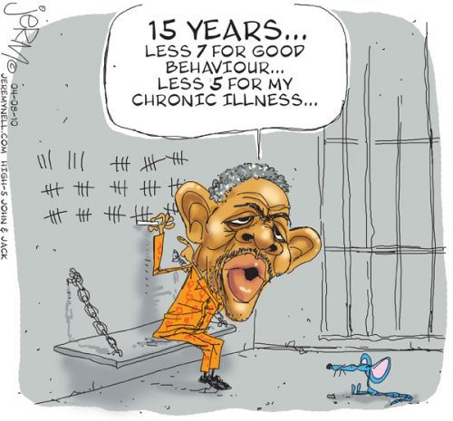 'Time off for Selebi': Africartoons.com