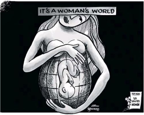 'Celebrating Women': Africartoons.com