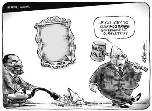 'A poor reflection on good governance': Africartoons.com