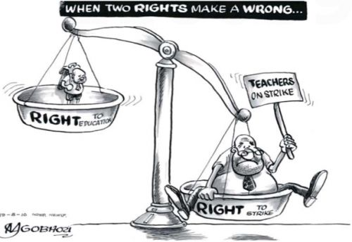 'When two rights make a wrong': Africartoons.com