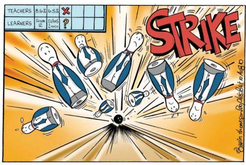 'Strike!': Africartoons.com
