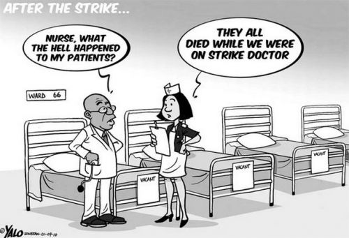 'After the Strike': Africartoons.com