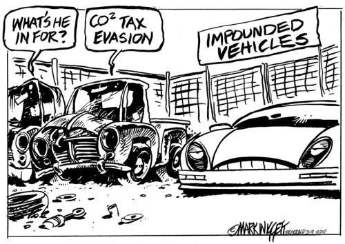 'CO2 Tax Evasion': Africartoons.com