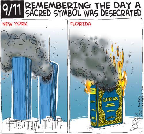 '9/11 Retaliation': Africartoons.com