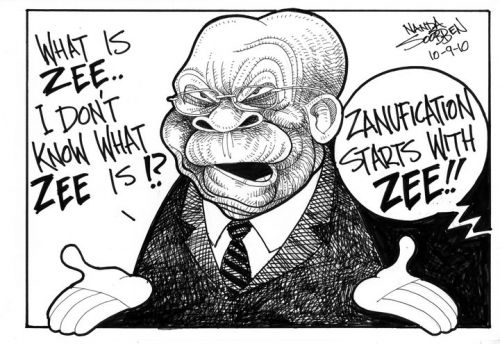 'Z is also for ZANUFICATION': Africartoons.com