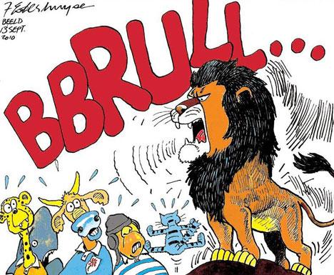 'Roar of the Lion': Africartoons.com
