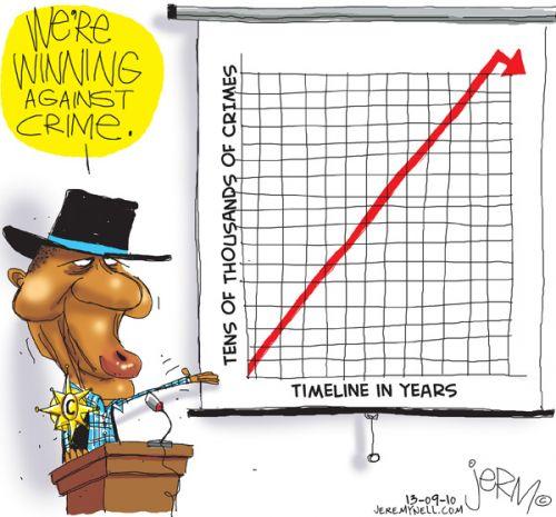 'Crime Dips': Africartoons.com