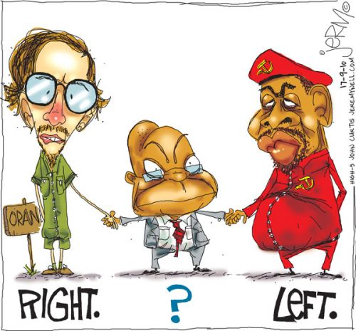 'Zuma in the middle': Africartoons.com
