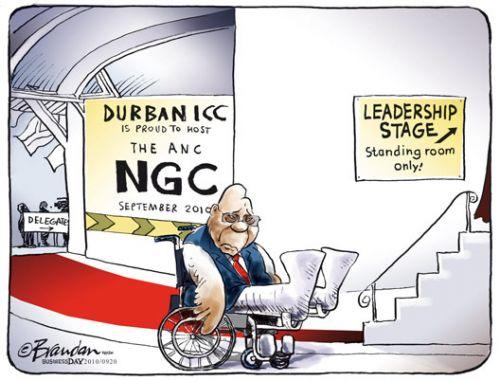 'Step Up Zuma': Africartoons.com