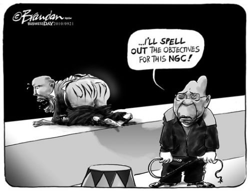'Zuma Chief Whip': Africartoons.com