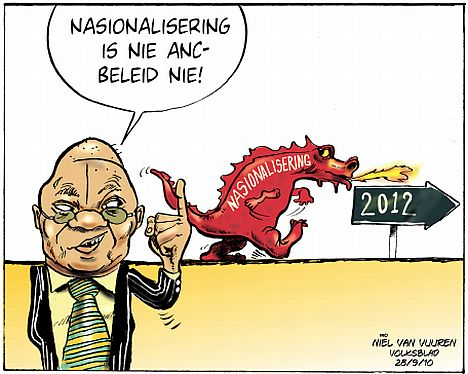 'Nationalisation Dragon': Africartoons.com