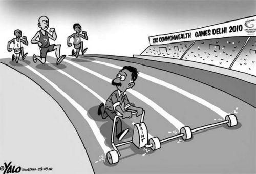 'Changing Lanes': Africartoons.com